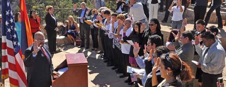 Naturalization Ceremony Grand Canyon