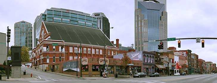 Nashville Pano Opry Broadway, Tennessee