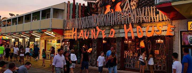 Ocean City MD Haunted House August 2009