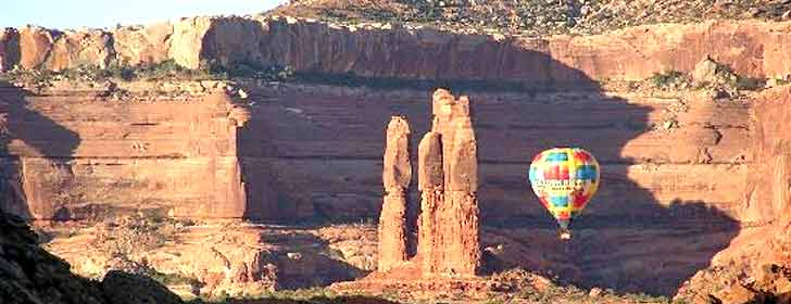 Canyonlands Ballooning, Moab Fotos